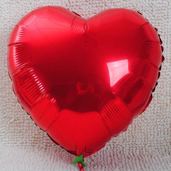 Kbkmarket Kalpli Kırmızı 45 Cm Folyo Balon