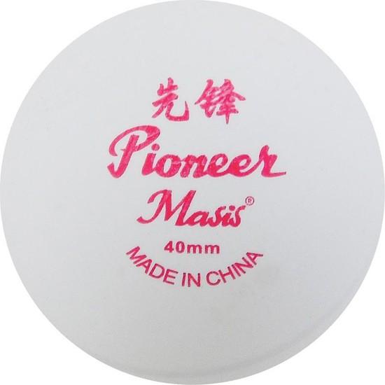 Masis Pinpon Topu Pioneer 144'LÜ Paket Beyaz