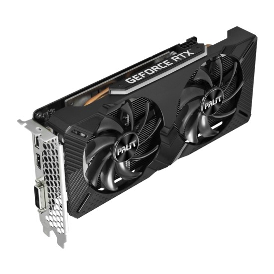 Palit GeForce RTX2060 Dual 6GB 192Bit GDDR6 (DX12) PCI-E 3.0 Ekran Kartı