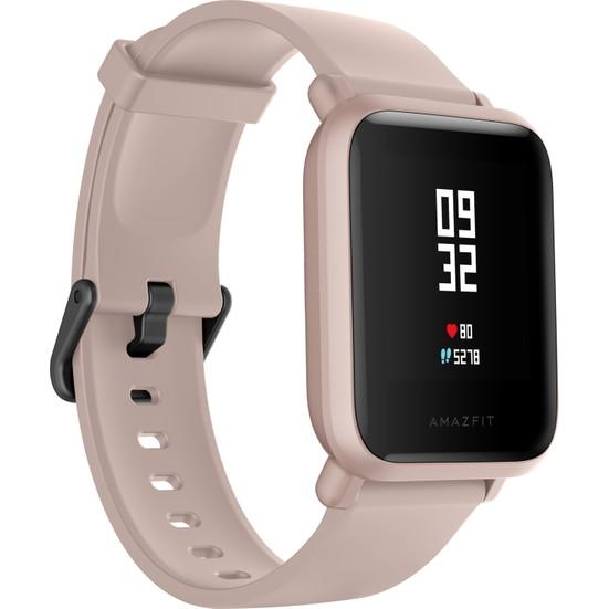 Xiaomi Amazfit Bip Lite Bluetooth Nabız Akıllı Saat - Global Versiyon - Pembe - Distribütör Garantili