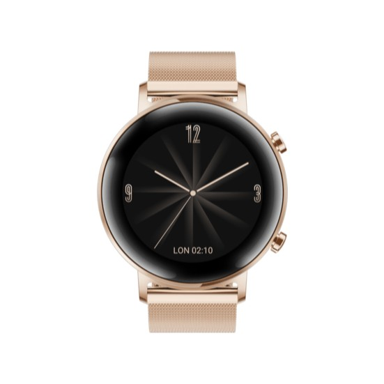 Huawei Watch GT2 42mm Elegant Edition Akıllı Saat – Altın Rengi