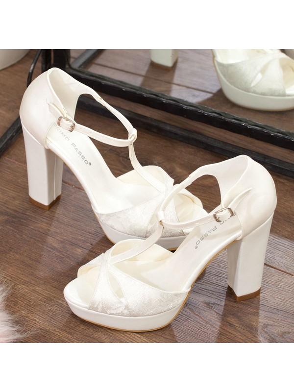 Adım Adım Gelin Platform Topuklu Ayakkabı