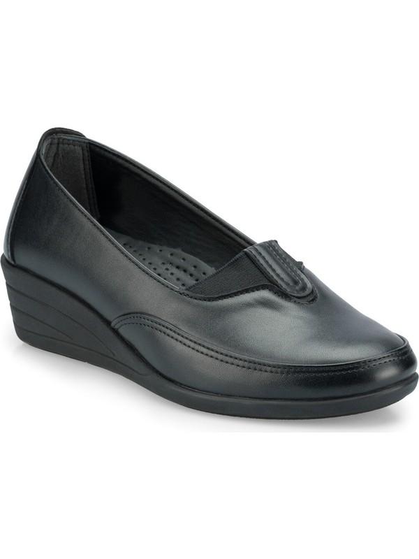 Polaris 161058.Z Siyah Kadın Ayakkabı