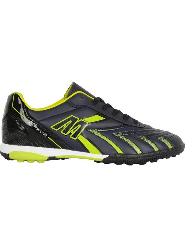 Mp 201-1107 Lacivert Halı Saha Çim Erkek Futbol Ayakkabı