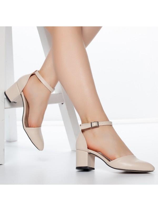 Daxtors D1060 Kadın Günlük Klasik Topuklu Ayakkabı