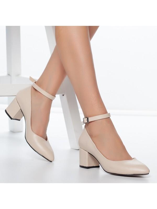 Daxtors D715 Kadın Günlük Klasik Topuklu Ayakkabı