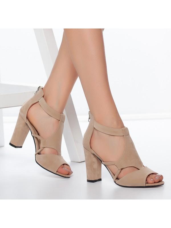 Daxtors D1250 Kadın Günlük Klasik Topuklu Ayakkabı