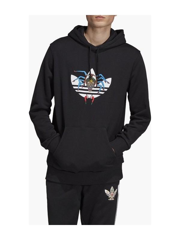 adidas Dy6691 Tanaamı Hoody Erkek Sweatshirt