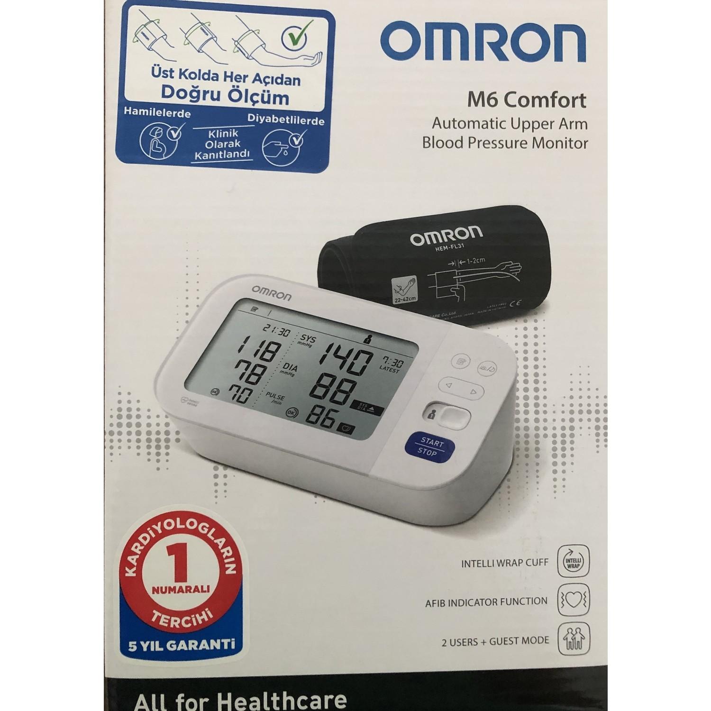 Omron M6 Comfort Hem 7360 E Dijital Koldan Olcer Tansiyon Fiyati
