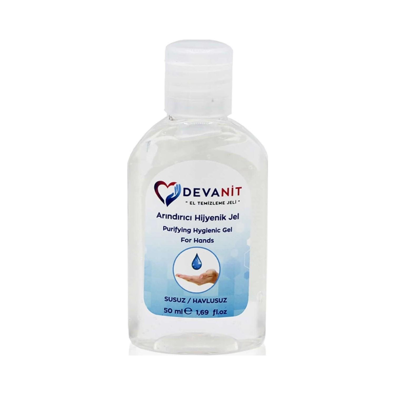 devanit 1 adet antibakteriyel el temizleme jeli 50 ml