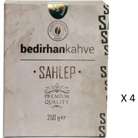 Bedirhan Kahve - Sahlep Salep 4 x 250 gr