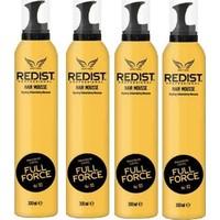 Redist Saç Köpüğü Full Force 04 300 ml 4'lü