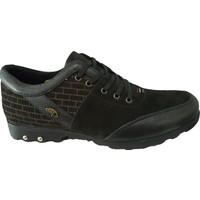 Dropland 3554 Deri Siyah Nubuk Günlük Erkek Ayakkabısı