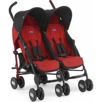 Chicco Echo Twin İkiz Baston Bebek Arabası / Garnet