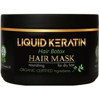 Liquid Keratin Organik Saf Keratinli Saç Maskesi 250 ml