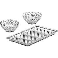 Bohemia Crystal Diamond Kristal 19 cm Tepsili Reçellik