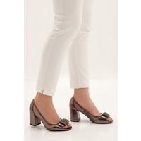 Marjin Kadın Pales Topuklu Abiye Ayakkabı