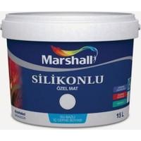 Marshall Özel Mat Çakıl Taşı 7,5 lt Silinebilir Silikonlu Duvar Boyası 10 kg
