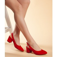 Daxtors D209 Kadın Günlük Klasik Topuklu Ayakkabı 36