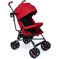 Duux Siena Baston Bebek Arabası Kırmızı