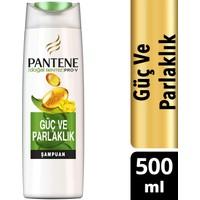 Pantene Doğal Sentez Güç ve Parlaklık 500 ml Şampuan