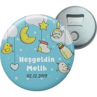 Grafilli Design 011 Hoşgeldin Bebek Magnet Açacak - 10 Adet