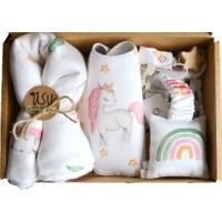 Asu Baby&Kids Unicorn Müslinli Bebek Kiti
