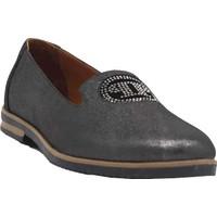 Marine Shoes Siyah Saten Deri Kadın Ayakkabı 2043 37