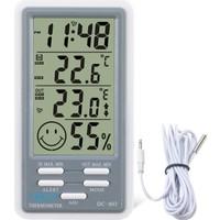 Life Net Medikal DC803 Dijital Termometre Isı Nem Ölçer Sıcaklık Iç Dış Mekan