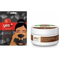 Yes To Hindistan Cevizli Ultra Nemlendirici Sufle 50 Ml+Tek Kullanımlık Kömür Kağıt Maske 20 ml