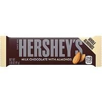 Hershey's Milk Chocolate With Almons 41 gr