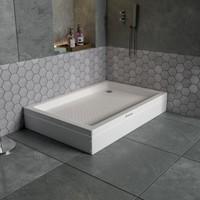 Dbbanyo Dikdörtgen Duş Teknesi Panelli 70*150*20 cm
