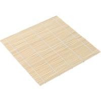 Shandong Bambu Sushi Rulo Sarma Yapma Matı Bamboo Rolling Mat 24 x 24 cm
