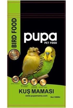 Pupa Kanarya ve Muhabbet Kuşları Maması 1 kg