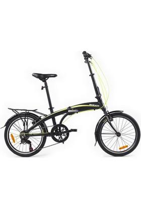 Bisan Fx 3500 Katlanır Bisiklet 20 Jant 6V 31 cm - Siyah Sarı
