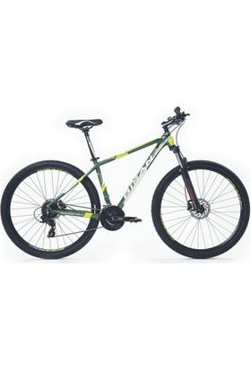 Bisan MTX 7300 29 Jant 24 Vites Bisiklet 46 cm - Haki Sarı