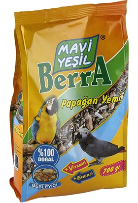 Mavi Yeşil Berra Papağan Yemi 6'lı