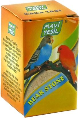 Mavi Yeşil Kanarya ve Muhabbet Kuşu Küp Gaga Taşı 40'lı