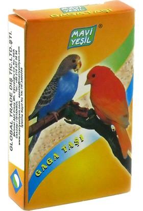 Mavi Yeşil Kanarya ve Muhabbet Kuşu Ince Gaga Taşı 50'li