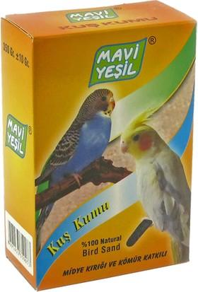 Mavi Yeşil Kuş Kumu 350 gr 15'li