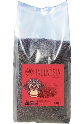 Bedirhan Kahve İndenosia Sumatra Endonezya Filtre Kahve Çekirdek 5 kg