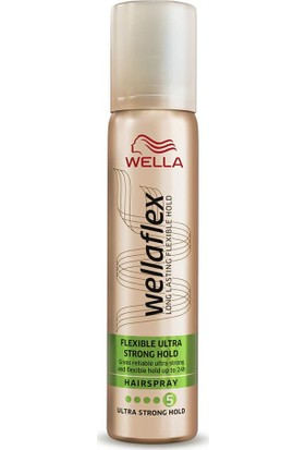 Wella Flex Flexıble Ultra Strong Hold Saç Spreyi 75 ml