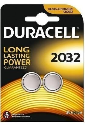 Duracell 2032 3V DL2032/CR/BR2032/CR2032 Lithium Pil 2 li