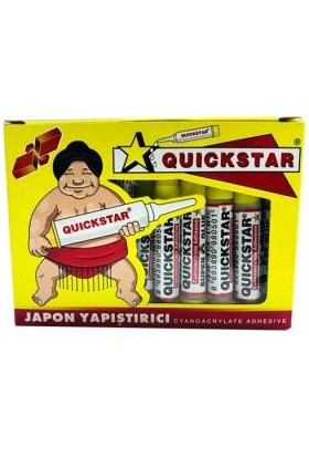 Quıckstar Japon Yapıştırıcı 50'li