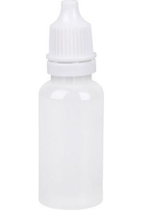 Demethome Boş Şeffaf Likit Mürekkep Numune Şişesi 15 ml - 100 Adet