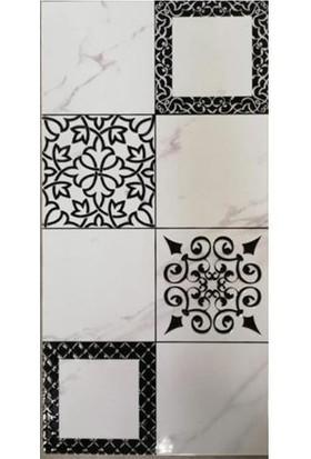 Pierro Mutfak Tezgah Arası Seramik Dekor Napoli-2 Siyah