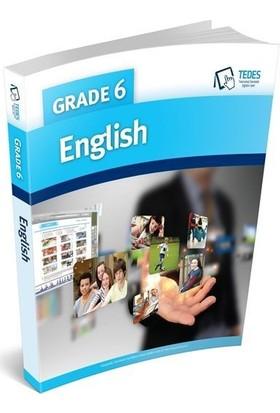 Tedes Yayınları 6.Sınıf English Konu Anlatımlı Soru Bankası