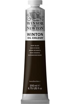 Winsor & Newton 331 24 Winton Yağlı Boya Ivory Black 200 ml