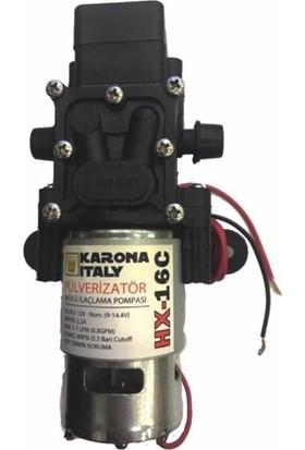 Karona Italy Hidrofor Pompa 12V 3.1 Lt 5.5 Bar