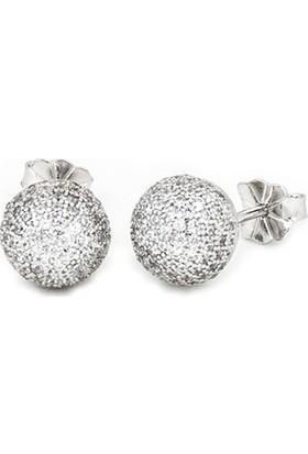 Masaliko Top Gümüş Küpe